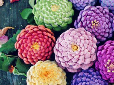 The Joy of Creativity: Pinecone Practice!